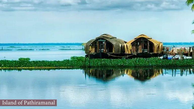 Island of Pathiramanal, Kottayam, Kerala