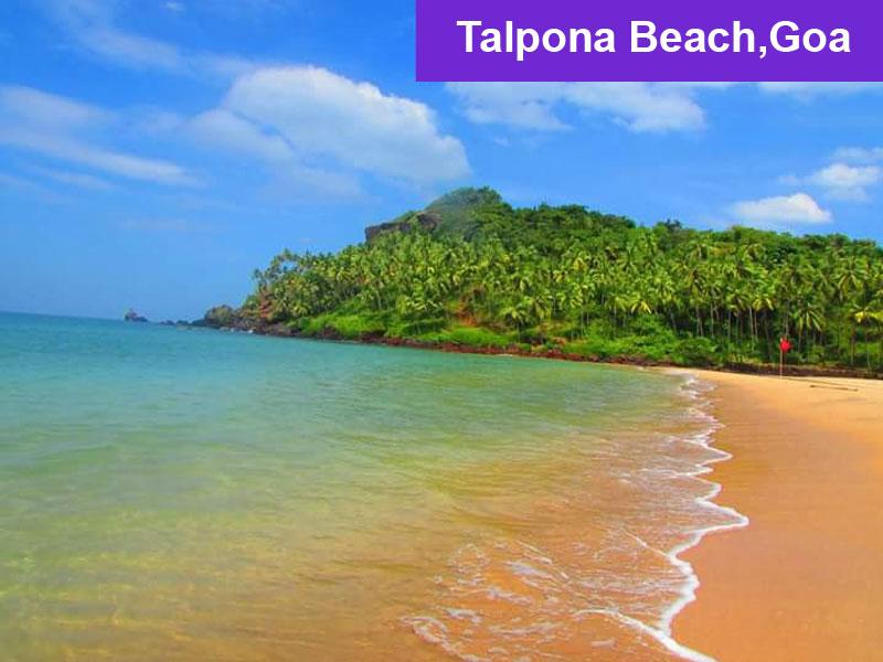 Talpona Beach, Goa