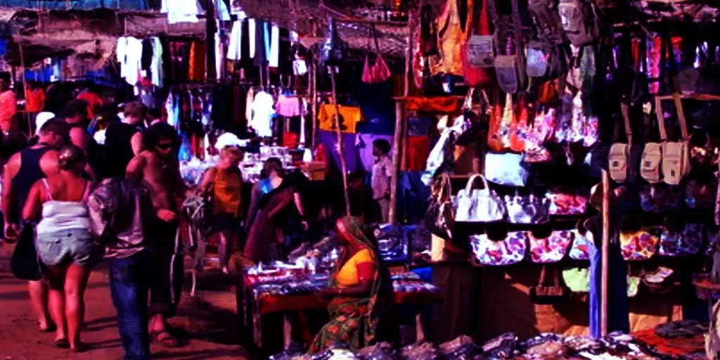places to visit in Goa, Anjuna Flea Market