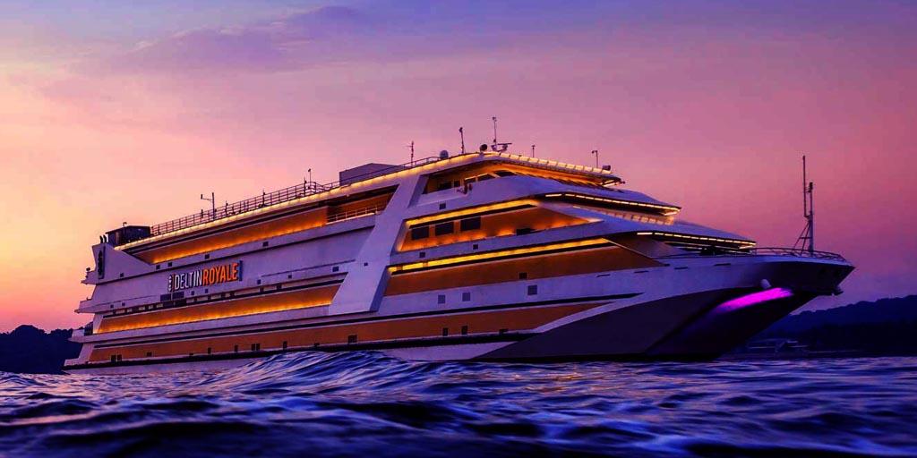 Goa tourist places, Casino Cruise